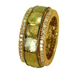 Multi-colored Diamond Ring