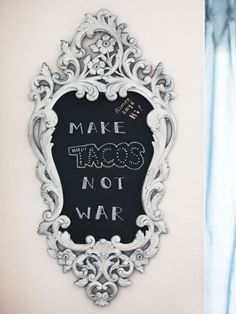 Chalk It Up: 40 Creative Ways to Use Chalkboard Paint via Brit + Co.