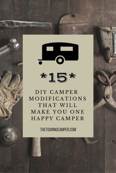 Check out these awesome and practical camper modifications! So many great ideas...