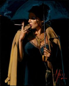 November Rain Lucy Iii Artwork By Fabian Perez Oil Painting & Art Prints On Canvas For Sale Fabian Perez, Illustrations, Illustration Art, Romain Gary, November Rain, Under The Rain, Oil Painting Reproductions, Art Themes, Woman Painting