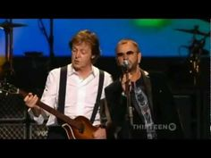 (HD) Paul McCartney & Ringo Starr - With a Little Help From My Friends (Live)