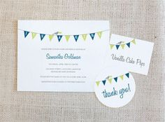 several cute baby shower invitations - free printables
