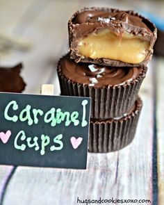 chocolate caramel cups candies