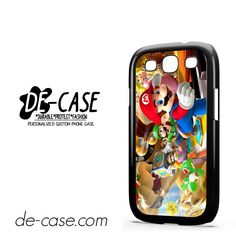 Mario Bross Game DEAL-6888 Samsung Phonecase Cover For Samsung Galaxy S3 / S3 Mini
