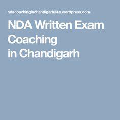NDA Written Exam Coaching inChandigarh