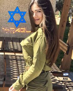 Related posts:Beauty in uniform nice! Mädchen In Uniform, Israeli Female Soldiers, Israeli Girls, Idf Women, Military Women, Girls Uniforms, Gianni Versace, Girl Photos, Special Forces