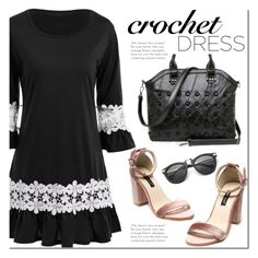 """""""Rosegal"""" by mada-malureanu ❤ liked on Polyvore featuring dress, under100 and rosegal"""