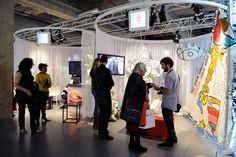 3rd Edition - March 29th to April 1st, 2012, Cité de la Mode et du Design - Paris / Credits : Didier Plowi / Designer : Co - Nekt