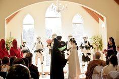 Starwars Wedding!! ha