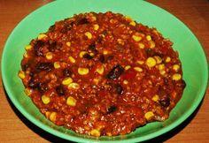 Mexikói chilis bab ínyenceknek