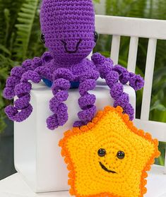 Craft Passions: Octopus and Starfish..# free #crochet pattern link...