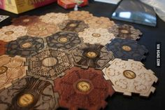 I NEED this Settlers of Catan board!