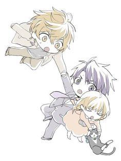 Yokozawa, Kirishima, Hiyori, and Sorata :3
