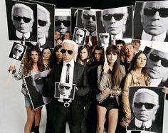 Karl Lagerfield.