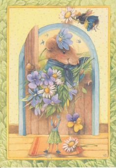 Marjolein Bastin Vera the Mouse | flower delivery vera mouse