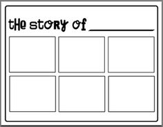 What a great way for students to map out their stories!