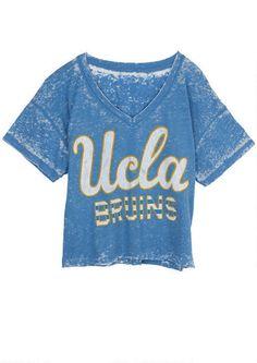 71065659459 dELiA s UCLA bruins burnout tee