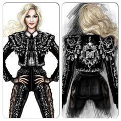 Gucci、Alexander Wang、Moschino…多位設計聯手操刀 瑪丹娜<心叛逆>演唱會服裝全解析