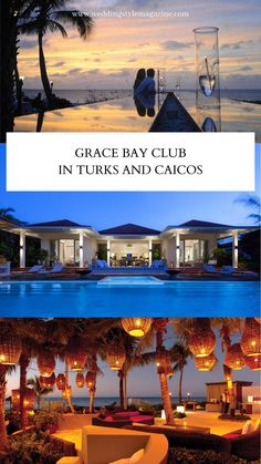 Grace Bay Club, Beach Honeymoon Destinations, Turks And Caicos, Luxury Villa, Weekend Getaways, Us Travel, Adventure, Mansions, House Styles