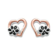 47b7822dcdd These playful paw earrings are perfect for any pet mom. Silver Pendant  Necklace