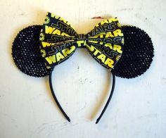Star Wars Rhinestone Minnie Mouse Ears  Pick by MinniesWardrobe, $29.00