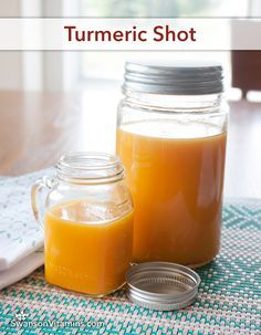 Turmeric Shot Add 18 tsp black pepper for 2000 better absorption with the turmeric Juice Smoothie, Smoothie Drinks, Detox Drinks, Healthy Smoothies, Healthy Drinks, Healthy Recipes, Detox Juices, Eat Healthy, Turmeric Shots
