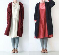 One Size donne del Knit di inverno cappotto del di Fashion Lady su DaWanda.com