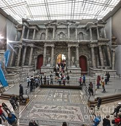 Berlin - Pergamon Museum..... This is one of the most stunning museum I've seen. ---Egyptian / Babylonian and Persian antiquities. The scale/size of the relics on display are mind-bottling *.   (* Kramer/Seinfeld reference)