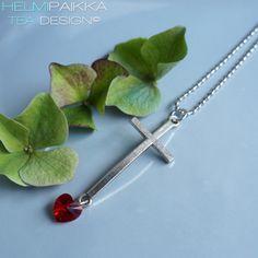 Helmipaikka Oy - Joka päivä on korupäivä - Helmipaikka. Arrow Necklace, Swarovski, Crosses, Jewelry, Jewlery, Jewerly, Schmuck, Jewels, Jewelery