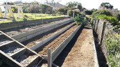 Final lawn and garden terraces completed.  2  Sep 2013