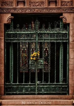 Anheuser Busch mausoleum doors