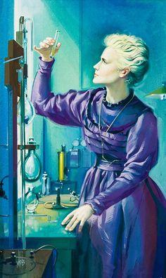 Angus McBride_Marie Curie