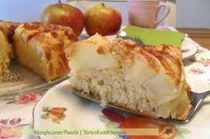 """Una versione """"Mangia senza Pancia"""" di torta di mele leggera. Gustosa e soffice, non ci si crede che ha così poche calorie!"""