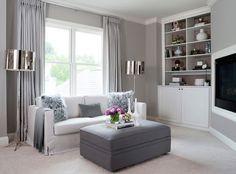 HUGE Master Bedroom Gets Super Lux Makeover