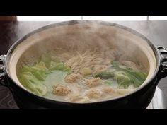 水炊きの作り方(鶏肉・本格博多風レシピ) - How to make Mizutaki (Chicken Hot Pot) - YouTube