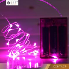 3*AA battery operated cotton ball led string light led christmas light