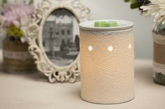 #Scentsy #warmer #decor #spring #vintage #timeless #elegant #classy #classic #antique #lace #summer #wickless #home #decor Get your own here.  Www.christypierce.scentsy.us