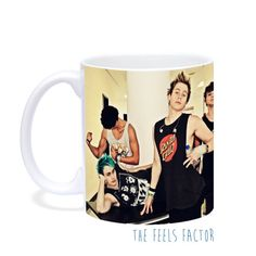 5 Seconds of Summer Mug by TheFeelsFactor on Etsy, $14.00