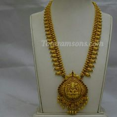 Traditional Antique Lakshmiji Long Haar With Elegant Handcarved Workmanship Available At Totaramsons.com