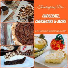 Chocolate Pie, Cheesecake and More | Recipes on HoosierHomemade.com