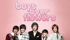 Boys over flowers Starring Gu Hye Sun, Lee Min Ho , Kim Hyun Joong, Kim Bum and Kim Joon