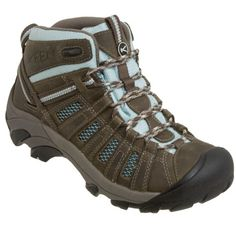 KEENVoyageur Mid Hiking Boot - Women's. Hiking boots that aren't too tall and are waterproof.
