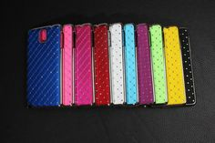 Bling Rhinestone Durable Luxury Diamond Hard Case For Samsung Galaxy Note 4 in Cell Phones & Accessories   eBay