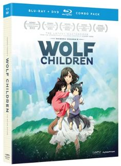 """""""Wolf Children DVD/Blu-ray (Hyb)"""" for the #rightstuf2013 holiday wishlist. I actually haven't seen this, but knowing that it was created by the same tear-inducing mastermind behind Summer Wars, I don't think it would be a bad idea investing in it."""
