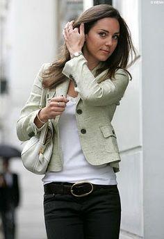 Kate Middleton in tweed blazer