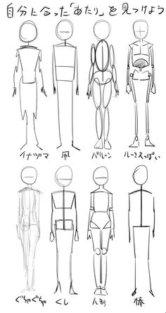 Different ways to draw a character Body Drawing Tutorial, Sketches Tutorial, Body Reference Drawing, Art Reference Poses, Drawing Base, Drawing Tips, Drawing Tutorials, Poses References, Anime Drawings Sketches