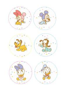 Cute Baby Disney Free Bottle Cap Images by Folie du Jour