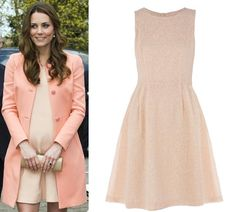 Kate Middleton's style: Get the look for less with high-street versions of her nude dress - hellomagazine.com