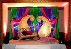 Image result for indian wedding decoration Indian Wedding Favors, Indian Wedding Invitations, Indian Wedding Decorations, Indian Party Themes, Indian Theme, Party Favors, Stage, Concept, Home Decor