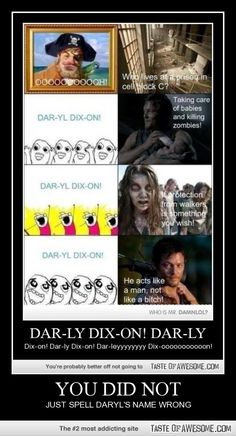 Darly Dixon? NO!!!